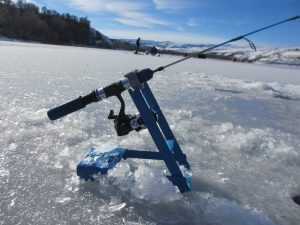 Ice Fishing Tip Down